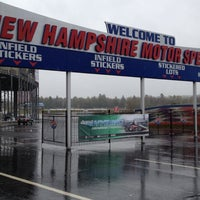 Photo taken at New Hampshire Motor Speedway by Chris B. on 5/1/2012