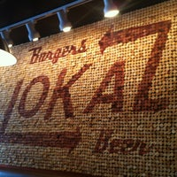 Photo taken at Lokal Burgers & Beer by Emilio on 5/17/2012
