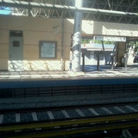 Photo taken at Irakleio ISAP Station by Thanassis G. on 8/19/2012