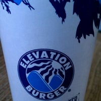 Photo taken at Elevation Burger by Dion H. on 2/13/2012