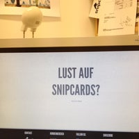 Photo taken at snipcard GMBH by Mik S. on 4/23/2012