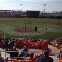 Photo taken at Doug Kingsmore Stadium by Tim C. on 2/18/2012