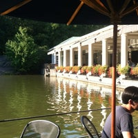 Photo taken at The Loeb Boathouse by Brooke B. on 8/31/2012