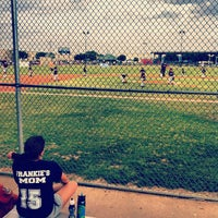 Photo taken at Eistetter Baseball Field & Park by Jared T. on 5/14/2012