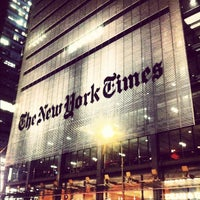 Photo taken at The New York Times Building by Brian P. on 3/19/2012