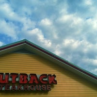 Photo taken at Outback Steakhouse by Tim C. on 3/21/2012