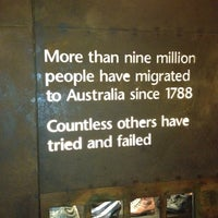 Photo taken at Immigration Museum by Judge H. on 3/10/2012