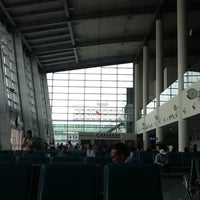 Photo taken at Gate 74 by Shian109 on 4/1/2012