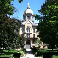 Photo taken at University of Notre Dame by Eddie L. on 6/13/2012