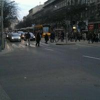 Photo taken at Wesselényi utca (4, 6) by Árpád F. on 3/1/2012