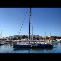Photo taken at Oeiras Yacht Harbour by Jorge B. on 3/11/2012