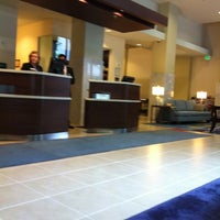 Photo taken at Courtyard by Marriott Seattle Downtown/Pioneer Square by Nikki V. on 6/13/2012