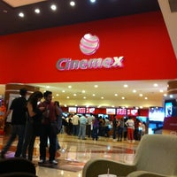 Photo taken at Cinemex by Georgee L. on 4/23/2012