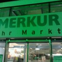 Das Foto wurde bei MERKUR Ihr Markt von Myriam W. am 3/1/2012 aufgenommen