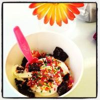 Photo taken at Sweetlix Frozen Yogurt by Ashley D. on 7/10/2012