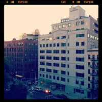 Photo taken at NYU Broome Street Residence Hall by Alexis B. on 7/2/2012