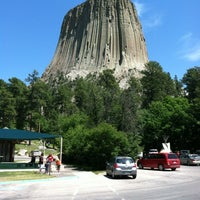 Photo taken at Devils Tower National Monument by Sasha A. on 6/15/2012