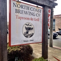 Photo taken at North Coast Brewing Co. Taproom & Grill by aaron h. on 8/18/2012