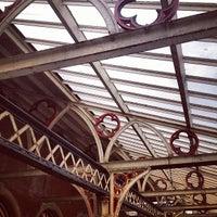 Photo taken at Aberystwyth Railway Station (AYW) by Tom M. on 7/9/2012