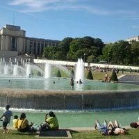 Photo prise au Jardins du Trocadéro par Romina B. le7/31/2012