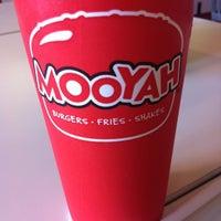 Photo taken at Mooyah Burger by Sarah A. on 2/21/2012