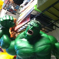 Photo taken at Galactic Comics by Danielle on 6/21/2012