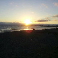 Photo taken at Robert W. Crown Memorial State Beach by Oliver on 8/20/2012