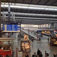 Photo taken at München Hauptbahnhof by Sebastian P. on 7/29/2012
