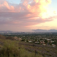 Photo taken at Piestewa Peak by Tamra P. on 6/27/2012