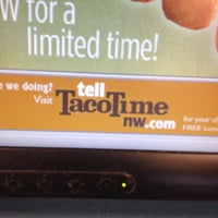 Photo taken at Taco Time by Marta M. on 4/21/2012