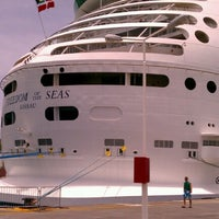 Photo taken at Royal Caribbean - Freedom Of The Seas by Mike T. on 7/8/2012