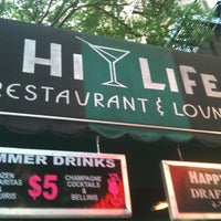 Photo taken at Hi-Life Restaurant & Lounge by CAESAR D. on 7/8/2012