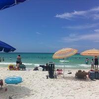Photo taken at Destin Beach by Garrett O. on 7/9/2012