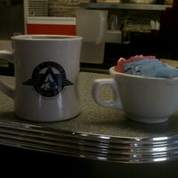 Photo taken at The Art Cliff Diner by Kari D. on 8/17/2012