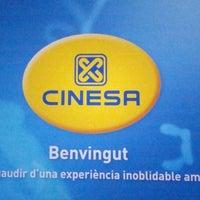 Photo taken at Cinesa La Maquinista 3D by Marc B. on 9/8/2012