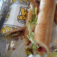 Photo taken at Which Wich? Superior Sandwiches by Kevin W. on 2/23/2012