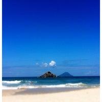 Photo taken at Praia de Juquehy by Toni F. on 8/26/2012