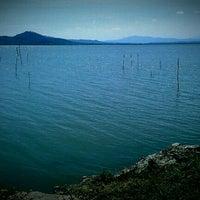 Photo taken at Lago Trasimeno by Camilla B. on 4/9/2012