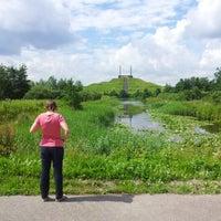 Photo taken at Haarlemmermeerse Bos Kleine Meer by Michel N. on 7/7/2012