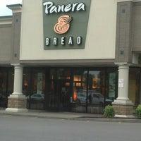 Photo taken at Panera Bread by marlena r. on 9/1/2012