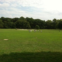 Photo taken at Prospect Park Ballfield #4 by Dan V. on 8/5/2012
