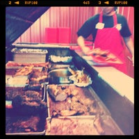 Photo taken at Cooper's Old Time Pit Bar-B-Que by benjamin d. on 6/15/2012