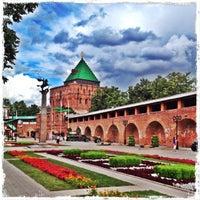 Снимок сделан в Нижегородский кремль пользователем Arbuzova E. 7/23/2012