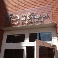 5/25/2012にPacoAnesがInstituto de Formación Empresarial de la Cámara de Madrid (IFE)で撮った写真