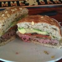 Photo taken at Bareburger by Sarah W. on 4/12/2012