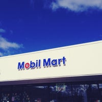 Photo taken at Mobil by rob g. on 2/18/2012