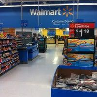 Photo taken at Walmart Supercenter by John L. on 2/17/2012