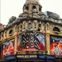 Photo taken at Shaftesbury Theatre by Luis d. on 6/12/2012