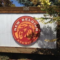 Photo taken at New Belgium Brewing by Bruce O. on 9/13/2012
