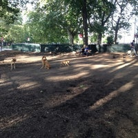 Photo taken at McCarren Dog Park by Sarah A. on 8/7/2012